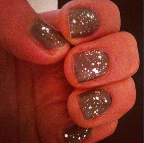 Essie Set In Stones Manicure