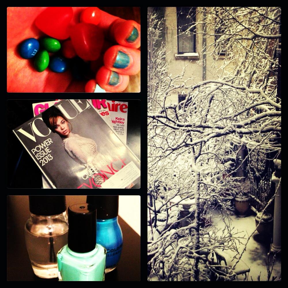 Instagram Weekend: Snow & Central Park