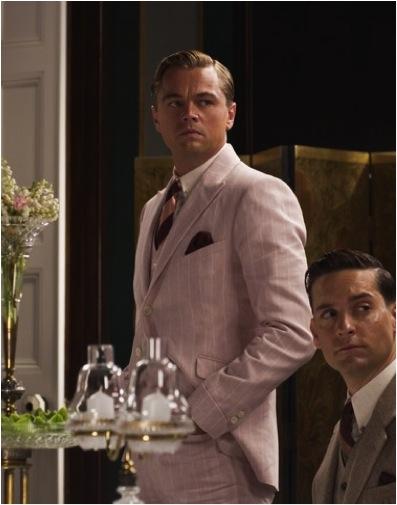 Leonardo Dicaprio Pink Suit Gatsby | Slice of Sparkle