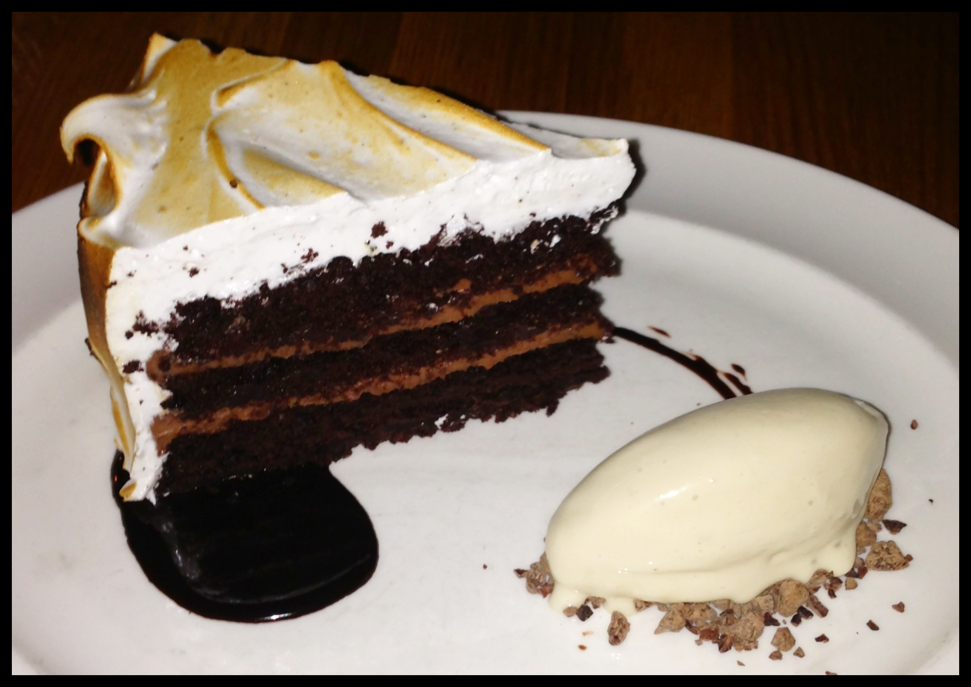 Devil's Food Cake at The Dutch in New York