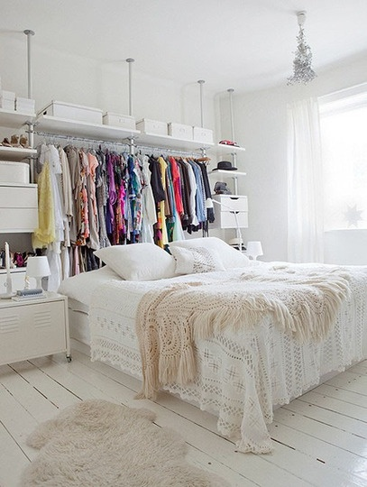 Organizing - Closet by Bed