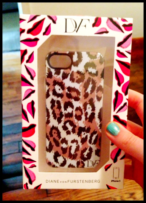 DVF Leopard iPhone 5 Case