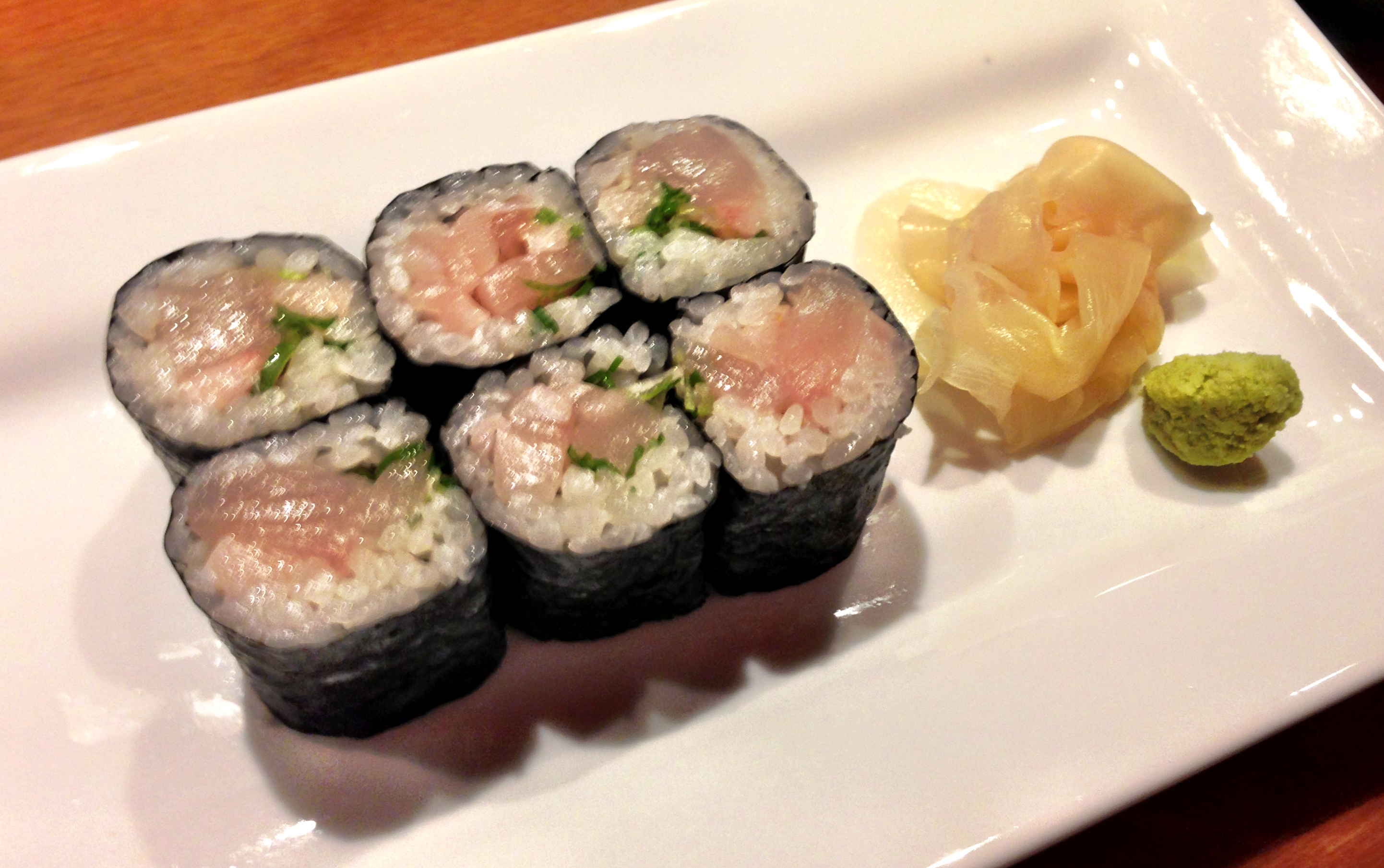 Yellowtail Roll at Sushi Dojo in New York